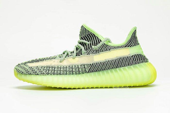 Adidas Yeezy Boost 350 V2 Yeezreel Reflective Glow Release Date Side