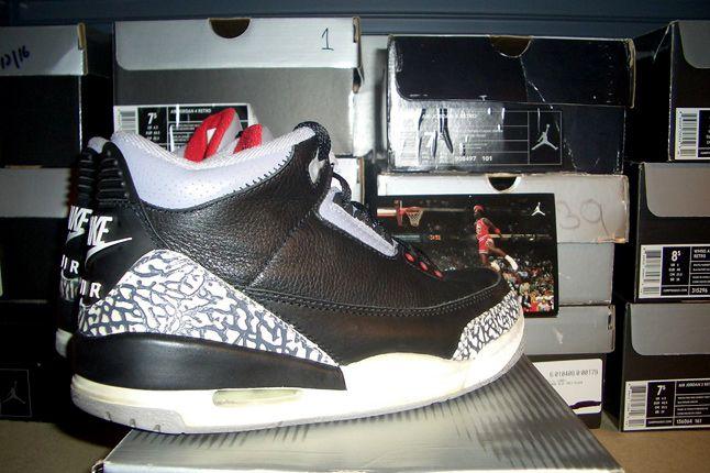 Rebecca Dahms Wmns Basketball Collection Air Jordan 3 Black 1