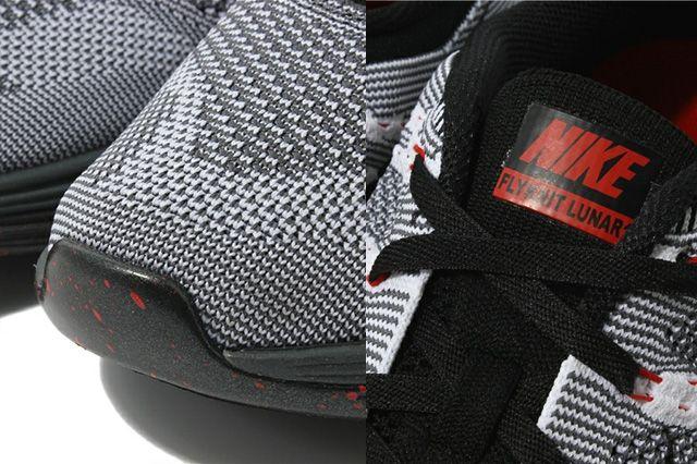 Nike Flyknit Lunar 1 Black Sole 3