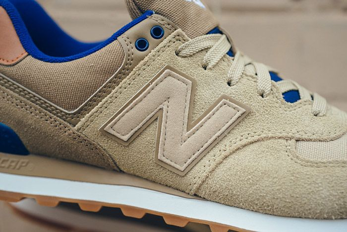 New Balance 574 Ml574 Ned Tan Blue 8