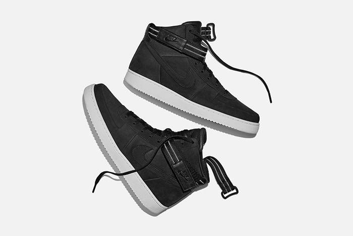 John Elliott Nike Vandal High Black 1