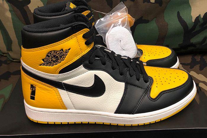 Shinedown Air Jordan 1 Attention Attention Sneaker Freaker