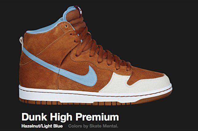 Nike Hazelnut Dunk Hi Sb 2009 1