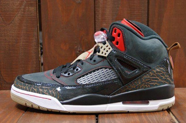 Air Jordan Spizike Blk Challenge Red Profile 1