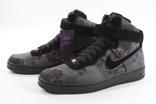 Liberty Of London Nike Air Force 1 Downtown Pair 1