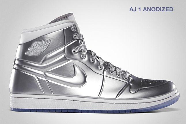Jordan Aj 1 Anodized Silver 1