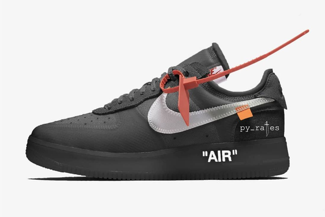 Py Rates Off White Nike Air Force 1 Black 2018