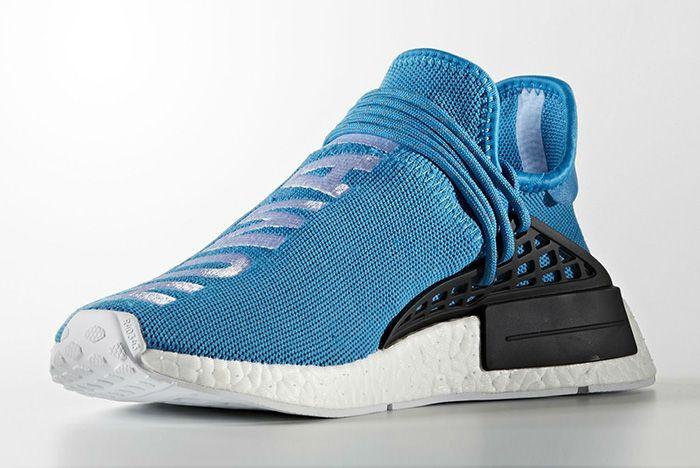 Pharrell Williams X Adidas Hu Nmd Blue5