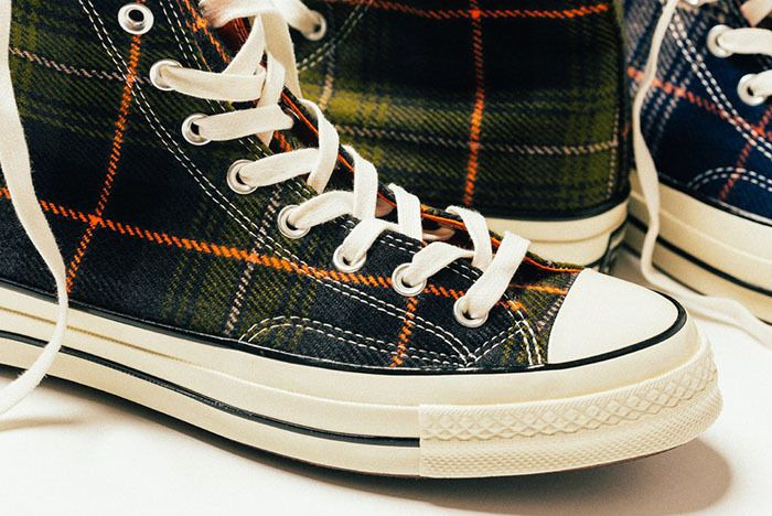 Converse Chuck Taylor All Star 70 Hi Plaid 3