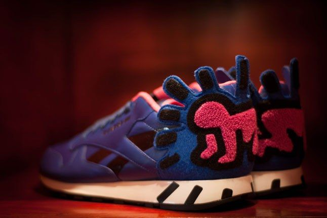 Reebok X Keith Haring Bodega Blue Baby 1