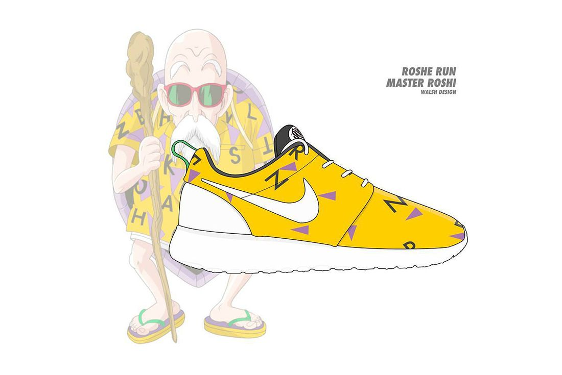 Dragon Ball Z Nike Walsh Design 9