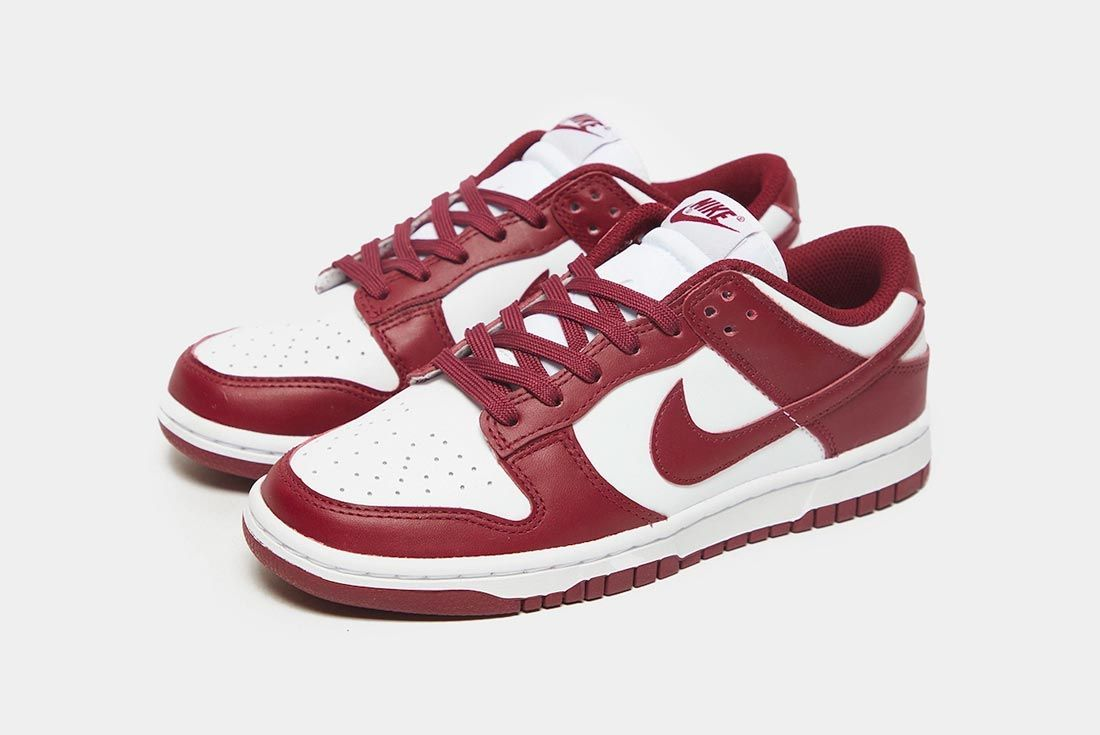 Nike Dunk Low 'Team Red'