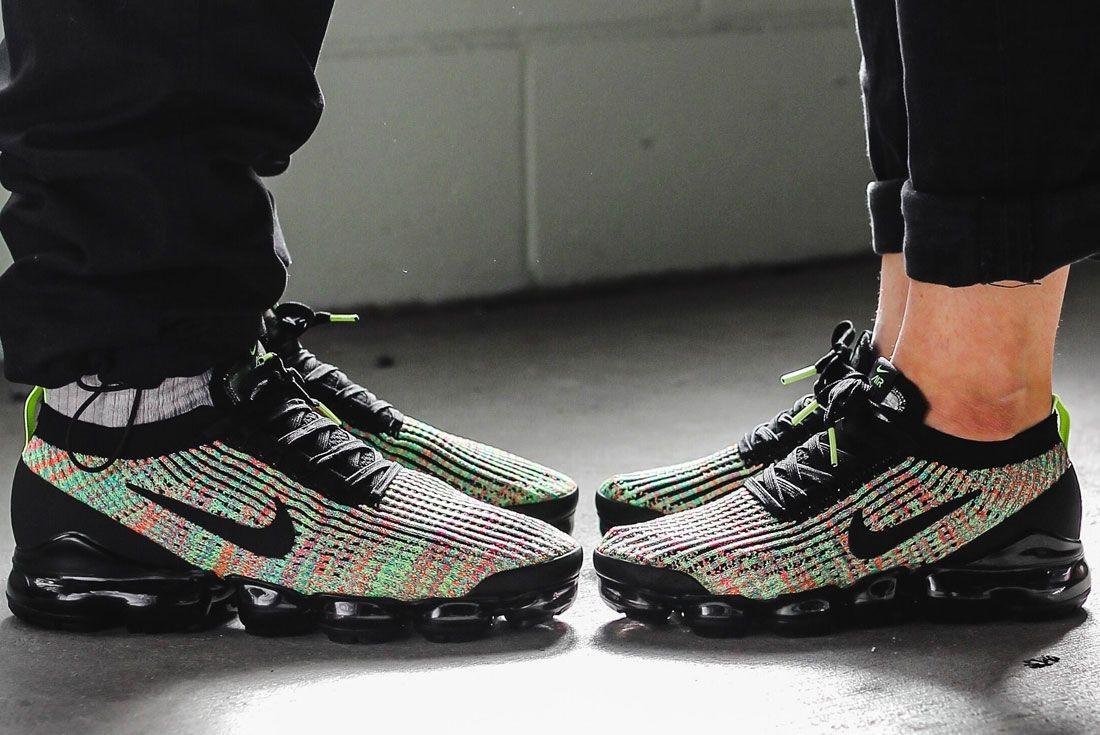Nike Vapormax 3 Flyknit Multi Colour Toe