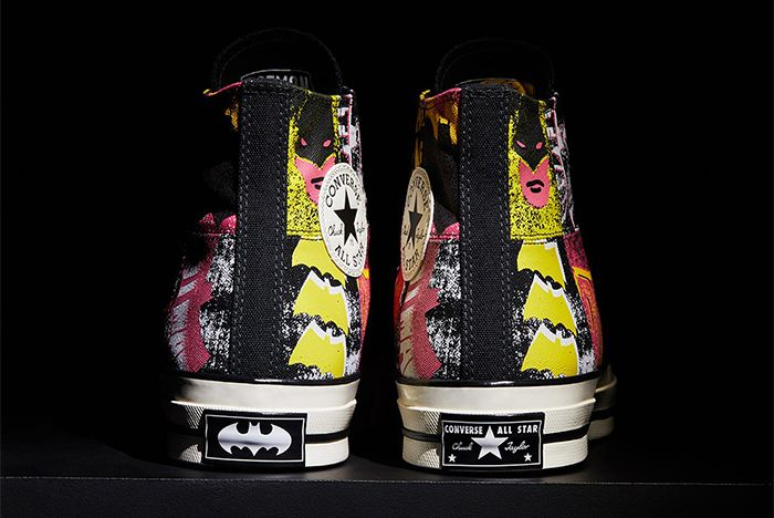 Batman Converse Chuck Taylor 1970 Black Heel