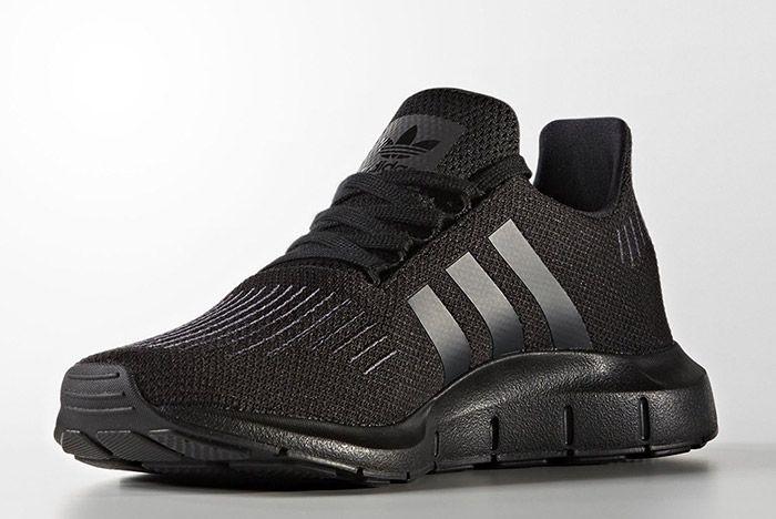 Adidas Swift Run Triple Black 3