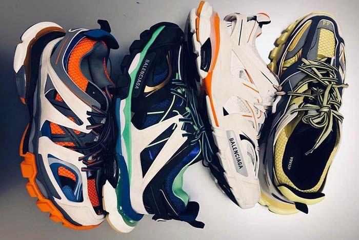 Balenciaga Fw18 Trail Sneaker 2