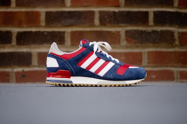 Adidas Zx700 Navy Red Profile 1