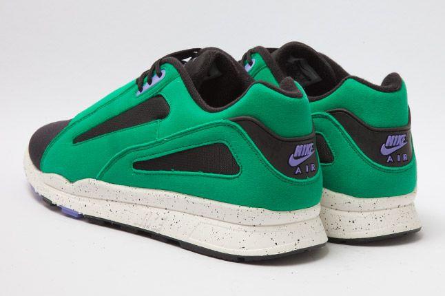 Nike Air Current Green Heel 1