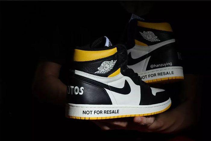 Air Jordan 1 Nrg No Ls Varsity Maize 861428 107 Release Date 12 Sneaker Freaker