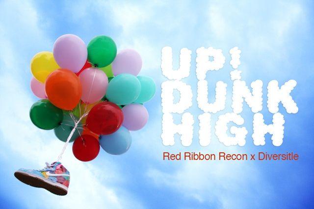 Red Ribbon Recon X Diversitile Dunk Hero
