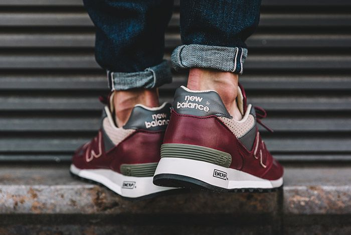 New Balance 577 Made In England Burgundy 2