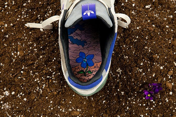 Packer Adidas Consortium Zx 9000 Violet Meadow Release Date Insole