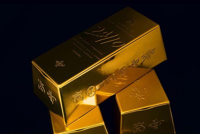 4  Crep Protect X 24 Kilates Gold Bar Collab