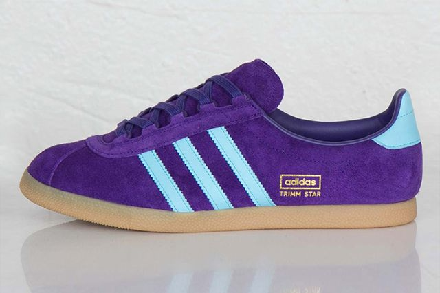 Adidas Originals Trimm Star Collegiate Purple Crystal Blue