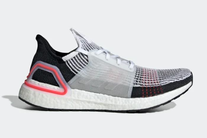 Adidas Ultraboost 19 Active Red Right Side Shot