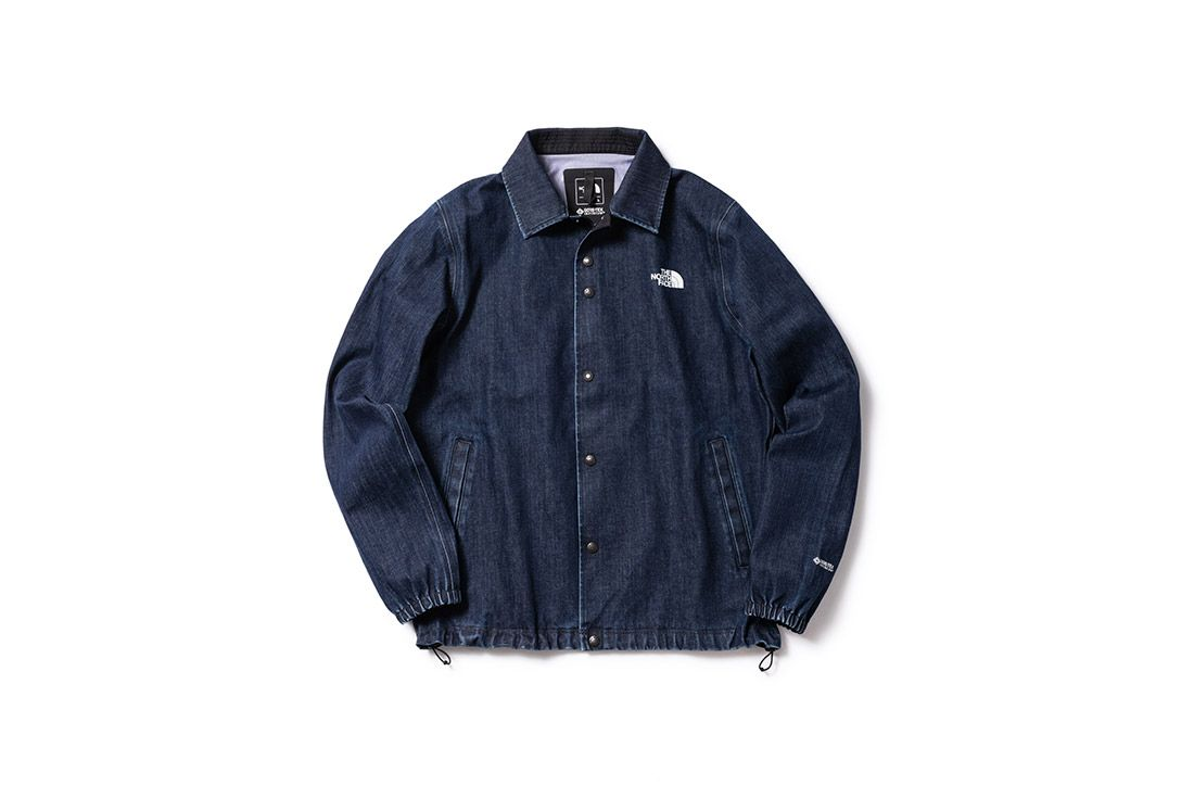 North Face Denim Gore Tex Coach