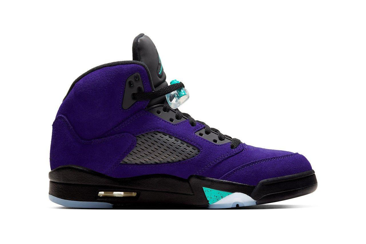 Air Jordan 5 Alternate Grape Right