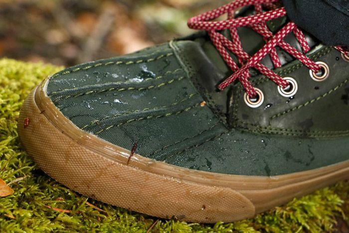 Vans Sk8 Hi Del Pato Mte Leather Green 1