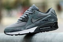 Nike Wmns Air Max 90 Pure Platinumdark Grey Black Thumb