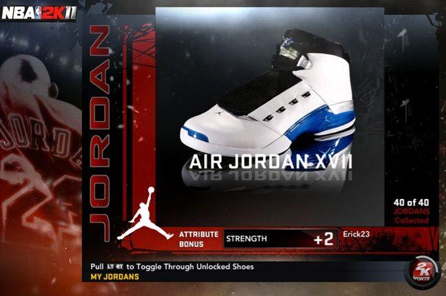 Jordan Nba 2K11 Xvii 1