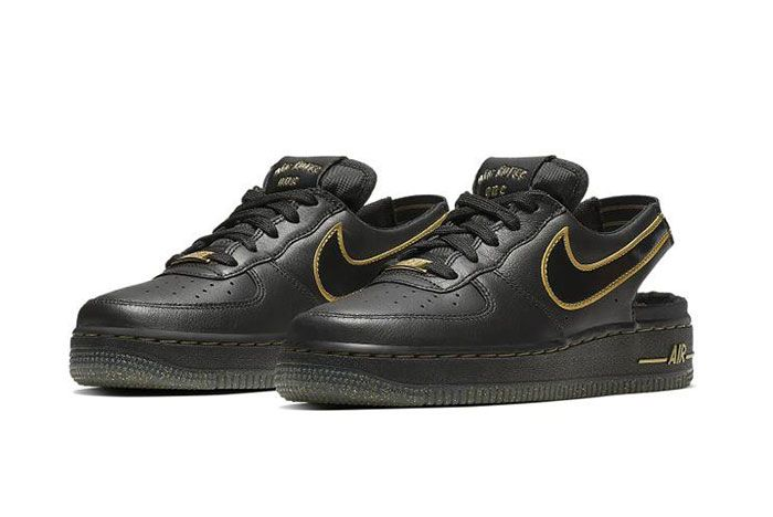 Nike Air Force 1 Vtf Black Side2