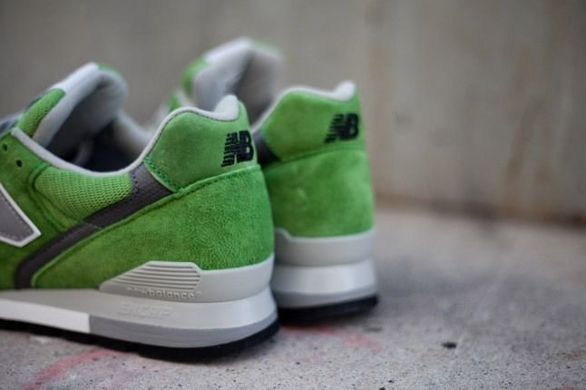 New Balance 996 Lolipop Pack Green Heel 1