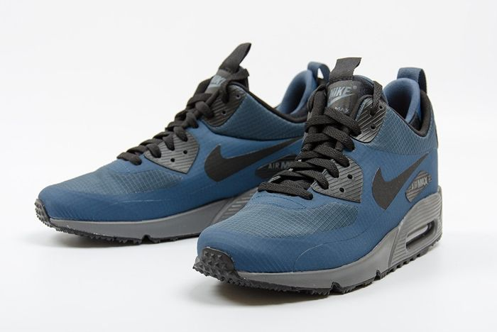Nike Air Max 90 Mid Winter Squadron Blue 2