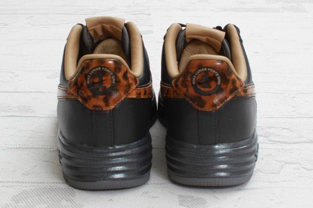 Nike Lunar Force 1 City Qs Black Tea Heels 1
