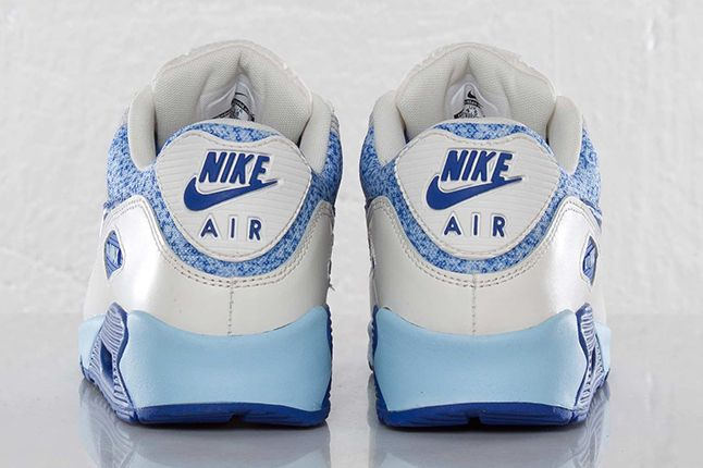 Nike Air Max 90 Wmns Hyper Blue Heels 1