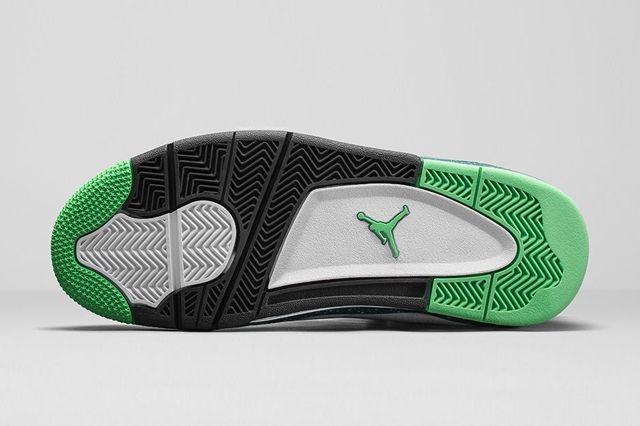 Air Jordan Dub Zero Teal 1