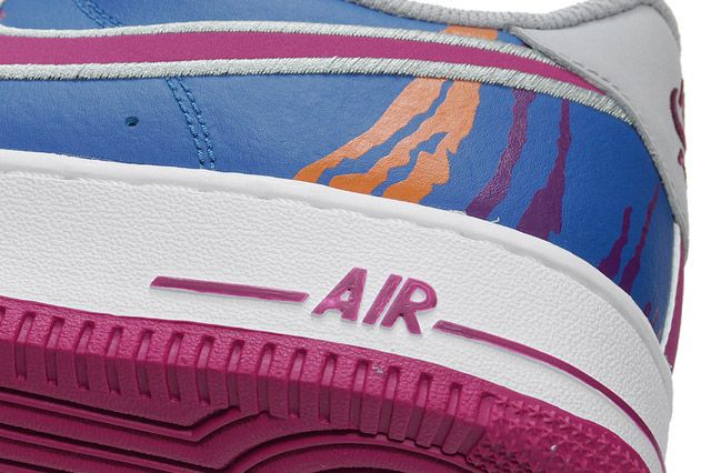 Air Force 1 Tech Challenge Detail Heel