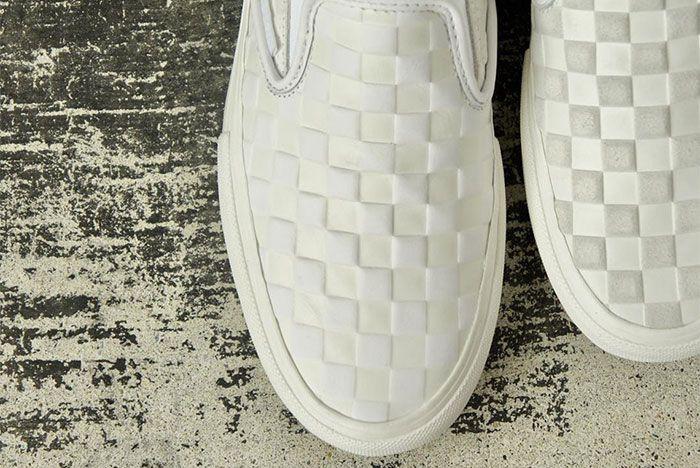 Engineered Garments Vans Vault Slip On White 1