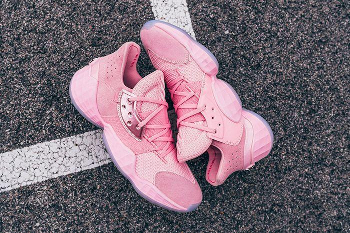 Adidas Harden Vol 4 Pink Lemonade Release Date Hero