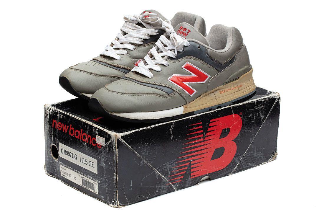 Nb 997 Grey Red