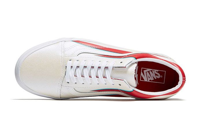 David Bowie Vans Collaboration Capsule Collection Old Skool Top