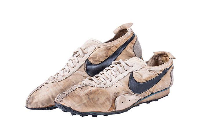 Nike Moon Shoe Auction Three Quarter Shot