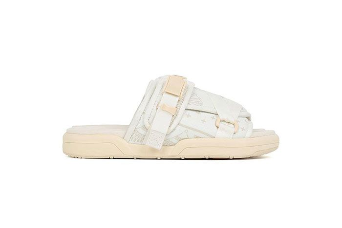 Visvim Christo Ict Bandana White Lateral