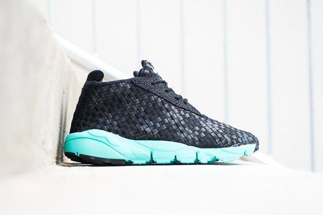 Nike Air Footscape Desert Chukka Black Turquoise 7