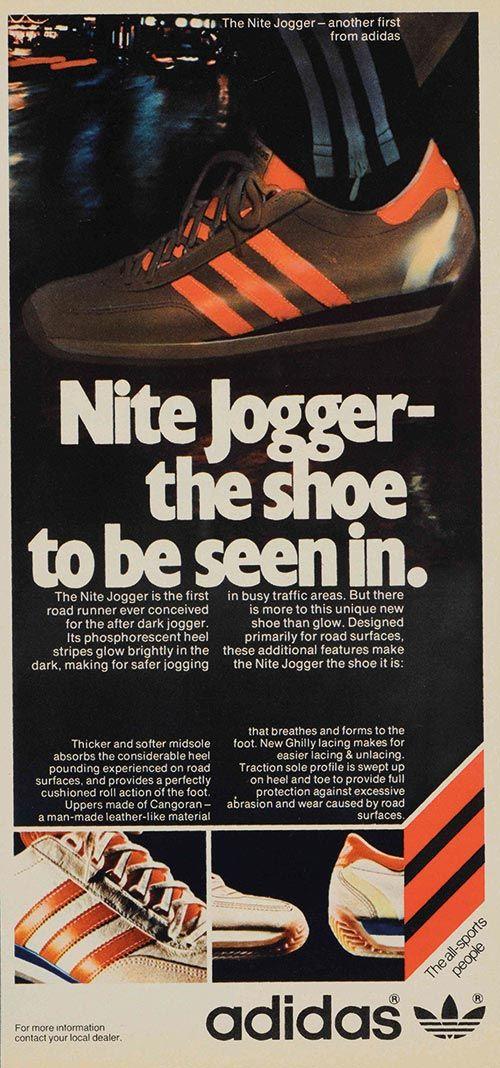 Nite Jogger Retro Ad