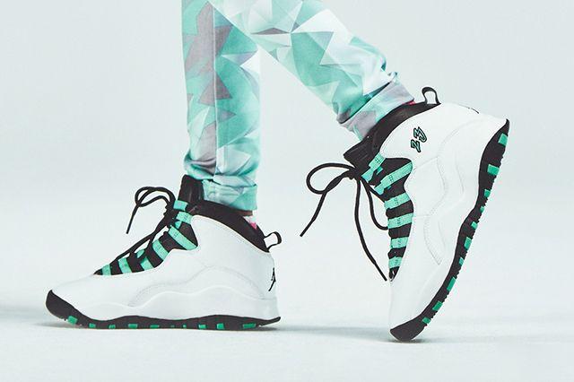 Air Jordan 10 Gs Menthol